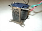 old Philips output transformer to couple the output tube