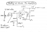 Breting 40 diagram of the audio preamplifier