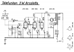 3W Arcolette diagram