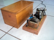 old radio: power supply