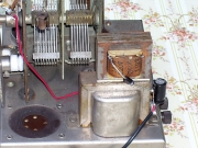 old radio vernier repair