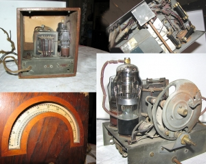 old tube radio converter