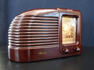 The rarity of Admiral antique radios