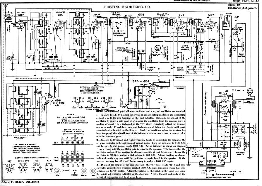 Receiver s       Circuit       Diagram      Alignment Procedure