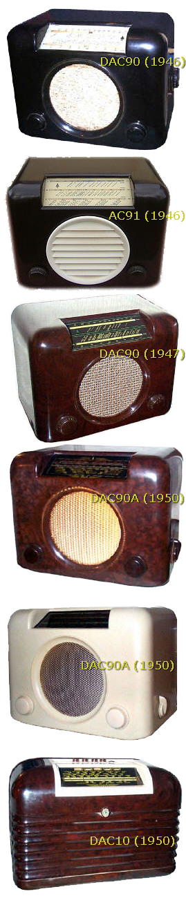 Antique BUSH radios