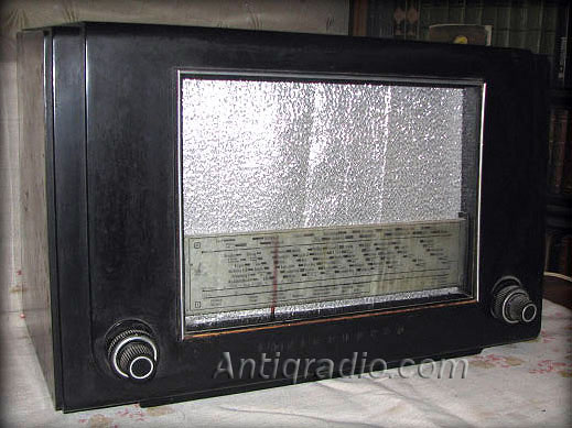 old tube receiver Telefunken 965