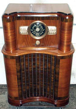 Restoring an antique radio